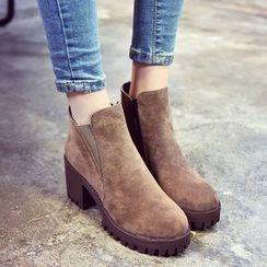 Chryse - 粗跟厚底及踝靴