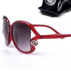 OJOS - Cutout-Trim Sunglasses