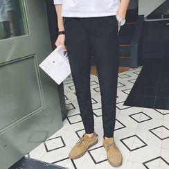 Besto - Slim-Fit Tapered Pants