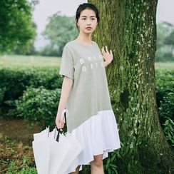 Rainie - Lettering T-Shirt Dress