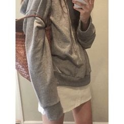 maybe-baby - Hooded Cotton Top
