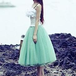 Aquello - Midi Tulle Skirt