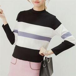 Honey House - Striped Sweater