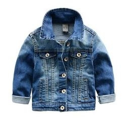 Kido - Family Matching Washed Denim Jacket
