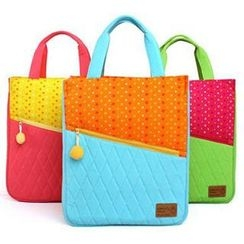 Ladybug - Kids Colour Block Pattern Bag