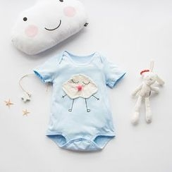 MOM Kiss - Baby Applique Bodysuit