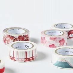 YUNO - Floral Print Masking Tape