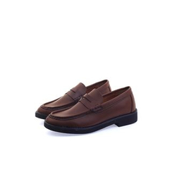 Ohkkage - Faux-Leather Penny Loafers
