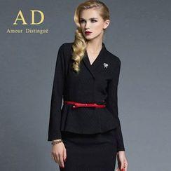Aision - Ruffle Top / Pencil Skirt