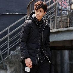 Chic Maison - Hooded Down Jacket