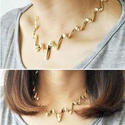 Ticoo - Wavy Necklace