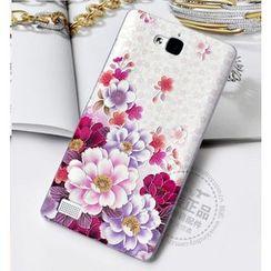 Kindtoy - Peony Print Huawei Honor 3C Case