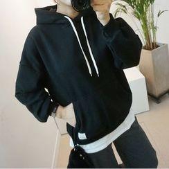 STYLEBYYAM - Drawstring Hooded Pullover