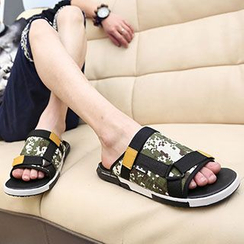 Muyu - Printed Slide Sandals