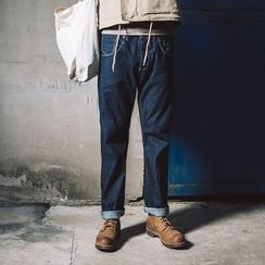 YIDESIMPLE - Straight-Fit Jeans