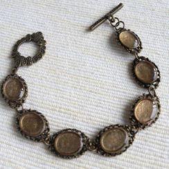 MyLittleThing - Vintage Style Copper Bracelet (Copper)