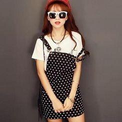 GOGO Girl - Dotted Jumper Skirt