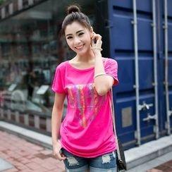 Zosia - Short-Sleeve Printed T-Shirt
