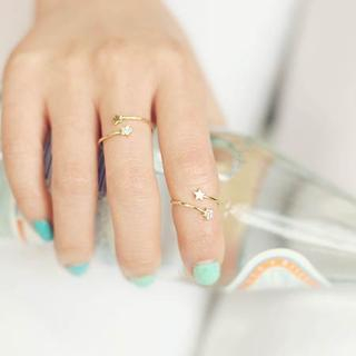 kitsch island - Star Rhinestone Ring