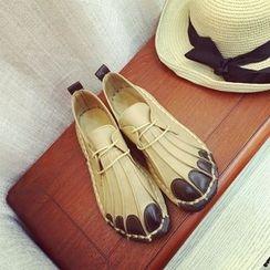 Micha - Faux Leather Lace Up Shoes