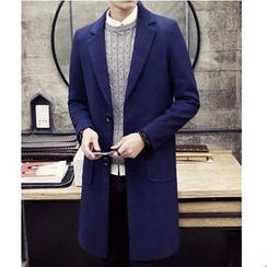 百高 - 纯色呢子大衣