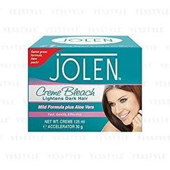 JOLEN - Lightens Excess Dark Hair Mild Formula Plus Aloe Vera