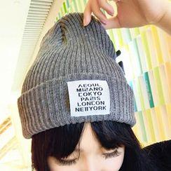 Pompabee - 貼布繡無邊帽