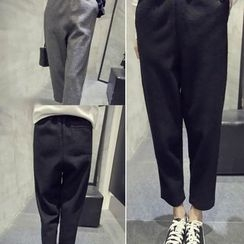 QZ Lady - Cropped Harem Pants