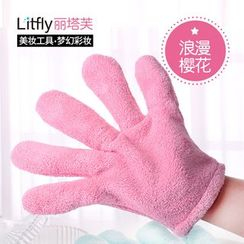 Litfly - Towel Gloves (Pink)