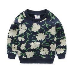 貝殼童裝 - 兒童碎花套衫