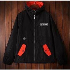 Bigboy - Colour Block Hooded Jacket