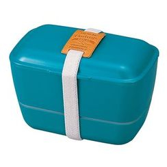 Hakoya - Hakoya American Vintage Dome 2 Layer Lunch Box (Green)