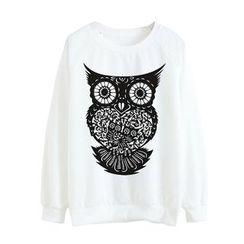 Maymaylu Dreams - Owl Printed Tee