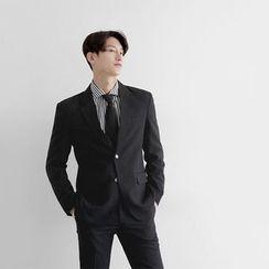 Seoul Homme - Single-Breasted Jacket