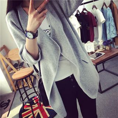 FR - Open-Front Cardigan