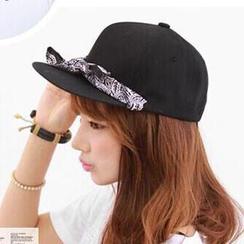 Hats 'n' Tales - Tie-front Baseball Cap