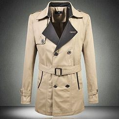 Riverland - Double-Breasted Trench Coat