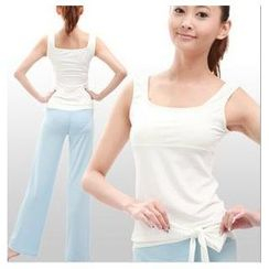 AUM - Yoga Set: Tank Top + Pants