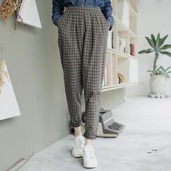 Tokyo Fashion - Check Tapered Pants