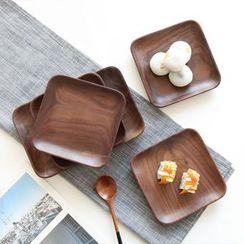 川岛屋 - 木质餐碟