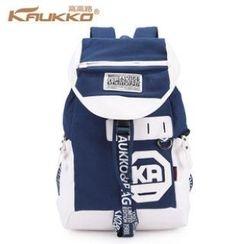 Kaukko - Canvas Lettering Backpack