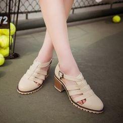 Shoes Galore - Strappy Pumps
