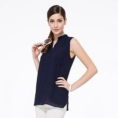 O.SA - Sleeveless Chiffon Blouse