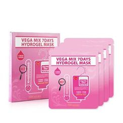 SKIN FACTORY - Vega Mix 7days Hydrogel Mask 4pcs