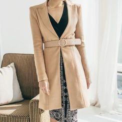 Aurora - Belted Button Coat