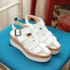 Tomma - 厚底 T 字涼鞋