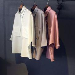 芷蓯夕 - 中袖襯衫