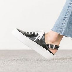 VIVIER - Lace-Up Slingback Sneakers