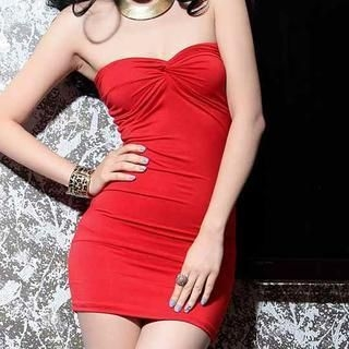 Miss Aries - Strapless Sheath Dress