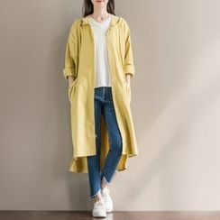 Fancy Show - Hooded Trench Coat